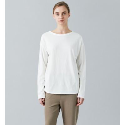 【プルミエ アロンディスモン/1er Arrondissement】 オーバーダイコットンロングスリーブTシャツ