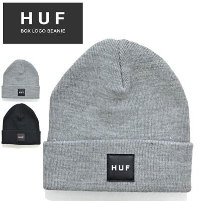 HUF ハフ ビーニー BOX LOGO BEANIE ニットキャップ 帽子 ニット帽 BN00090 ネコポス便発送で送料無料