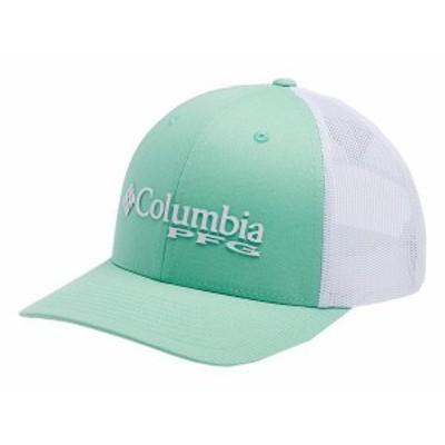コロンビア レディース 帽子 アクセサリー PFG Mesh Ball Cap New Mint/White/