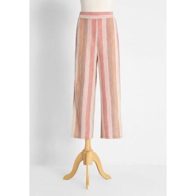 ビービーダコタ BB Dakota レディース クロップド ボトムス・パンツ earn your stripes cropped pants pink