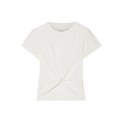 WE OVER ME T シャツ アイボリー L ポリエステル 92% / ポリウレタン 8% T シャツ