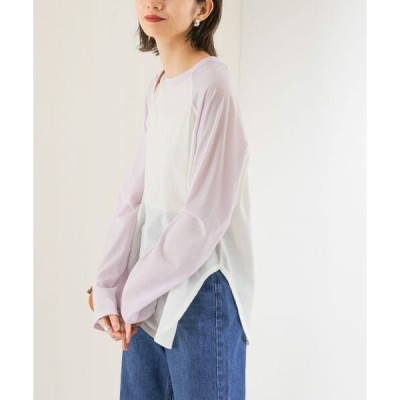 KBF / ケービーエフ ラグランロングTシャツ