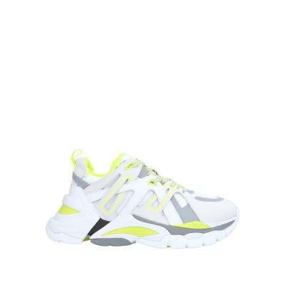 アッシュ ASH スニーカー&テニスシューズ(ローカット) ホワイト 37 革 / 紡績繊維 スニーカー&テニスシューズ(ローカット)