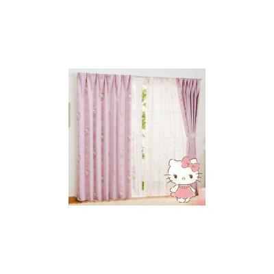 サンリオ(SANRIO) サンリオ キティ ドレープカーテン2枚セット 100×178cm SB-521-S (1604172)