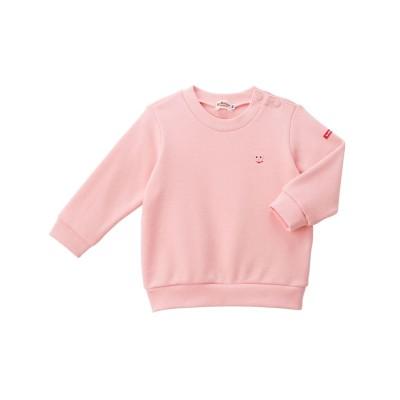 ワンポイント刺繍トレーナー 裏毛パイル (トレーナー・スウェット)Kids' Sweatshirts