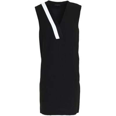 ラグアンドボーン RAG & BONE ミニワンピース&ドレス ブラック 10 ポリエステル 61% / トリアセテート 39% / コットン /