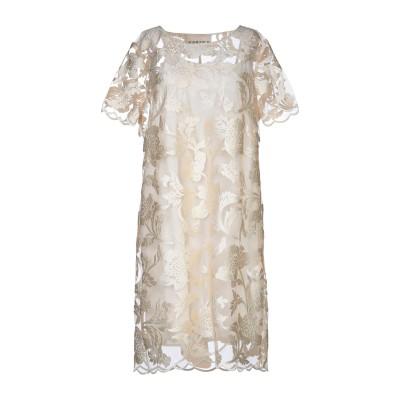 KARTIKA ミニワンピース&ドレス アイボリー 42 ポリエステル 100% / レーヨン ミニワンピース&ドレス