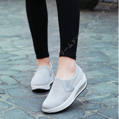 スニーカー シューズ カジュアル 靴 軽量 歩きやすい 履きやすい スリッポンスニーカー 超軽量 素材スポーツタイプスニーカー キャンバス 靴 ぺたんこ
