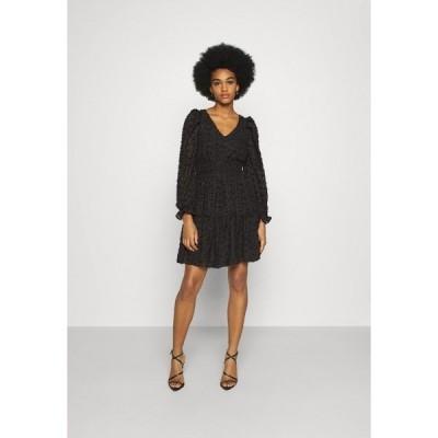 ヤス ワンピース レディース トップス YASVIVIAN DRESS - Day dress - black