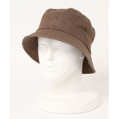 NATURAL BEAUTY BASIC / メランジバケットハット WOMEN 帽子 > ハット