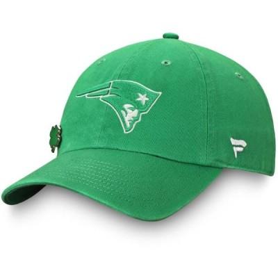 ユニセックス スポーツリーグ フットボール New England Patriots NFL Pro Line by Fanatics Branded St. Patrick's Day Unstructured Adju