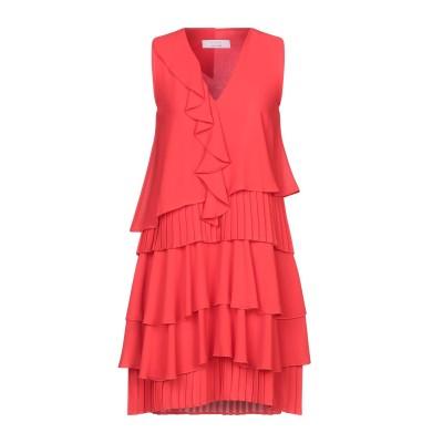 カオス KAOS ミニワンピース&ドレス レッド 38 ポリエステル 100% ミニワンピース&ドレス