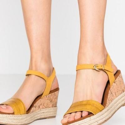 マルコトッツイ レディース サンダル High heeled sandals - saffron