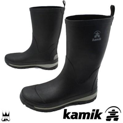 カミック Kamikメンズ レインブーツ ロング 1600441 LARS レインシューズ ロングブーツ ラバーブーツ 長靴