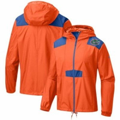 Columbia コロンビア スポーツ用品  Columbia Florida Gators Orange Flashback Full-Zip Windbreaker Jacket