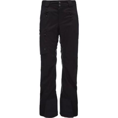 ブラックダイヤモンド Black Diamond レディース スキー・スノーボード ボトムス・パンツ Boundary Line Insulated Pants Black