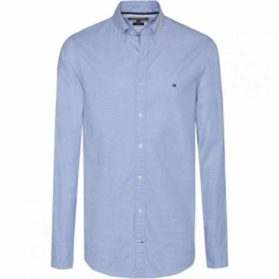トミー ヒルフィガー Tommy Hilfiger メンズ シャツ トップス core stretch slim fit oxford shirt Light Blue