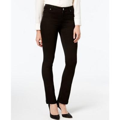 アイエヌシーインターナショナルコンセプト デニムパンツ ボトムス レディース INC Petite Black Bootcut Jeans, Created for Macy's Deep Black
