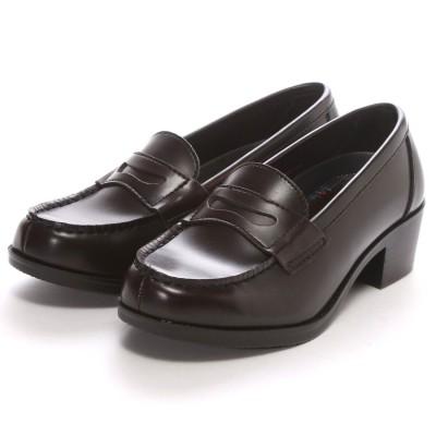SHOE・PLAZA セダークレスト CEDAR CREST ウォッシャブル(ダークブラウン)ローファー/学生靴/洗える