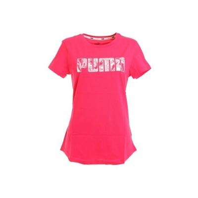 プーマ(PUMA) Tシャツ レディース 半袖 KA 582759 15 PNK (レディース)