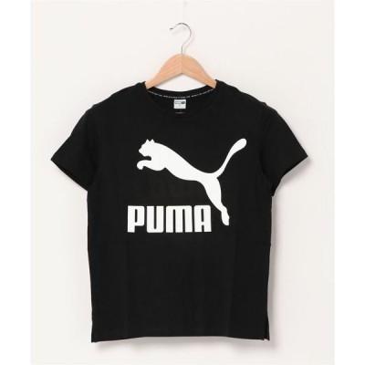 tシャツ Tシャツ PUMA プーマ グラフィック ロゴ ティーシャツ CLASSICS LOGO SS TEE