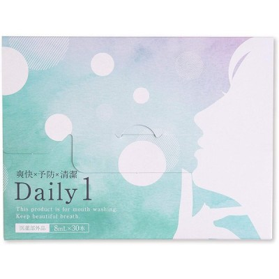 デイリーワン Daily1 30包 マウスウォッシュ ホワイトニング デンタルケア 送料無料