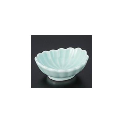 和食器 / 小付 翡翠菊形楕円千代口 寸法:7.8 x 6.5 x 3cm