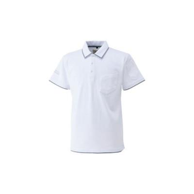 ポロシャツ(半袖) 5760-621 寅壱 5760-621 白/LL