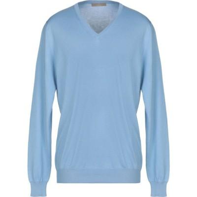 クルチアーニ CRUCIANI メンズ ニット・セーター トップス sweater Sky blue