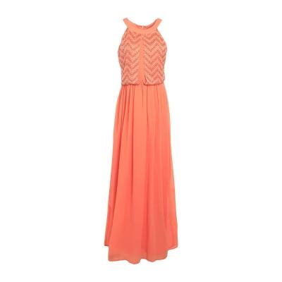 LA KORE ロングワンピース&ドレス サーモンピンク 1 ポリエステル 100% ロングワンピース&ドレス