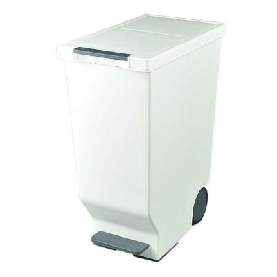 スライドペダルペール ブラック 45L ゴミ箱 平和工業