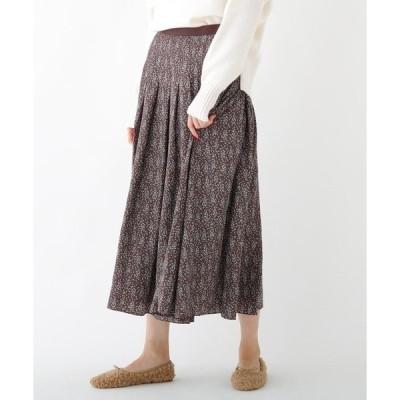 DRESSTERIOR / ドレステリア ドットフラワープリントスカート