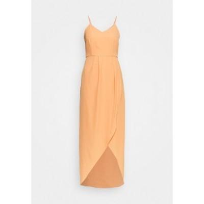 ヤス レディース ワンピース トップス YASVADUZ STRAP DRESS SHOW - Maxi dress - cantaloupe cantaloupe