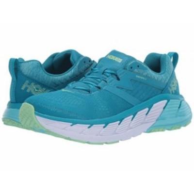 Hoka One One ホカオネオネ レディース 女性用 シューズ 靴 スニーカー 運動靴 Gaviota 2 Caribbean Sea/Green Ash【送料無料】
