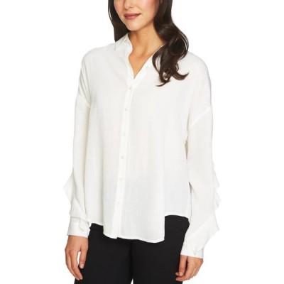 レディース 衣類 トップス 1.State Womens Ruffled Button Up Shirt ブラウス&シャツ