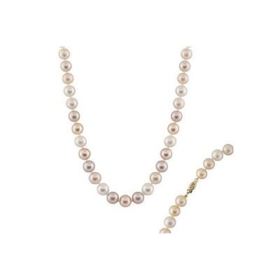 スプレンディット Pearls パール 9-10ミリ ナチュラル マルチカラー AAA quality 淡水パール ネックレス OSD-72