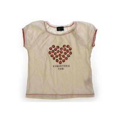 組曲 Kumikyoku Tシャツ・カットソー 90サイズ 女の子 子供服 ベビー服 キッズ