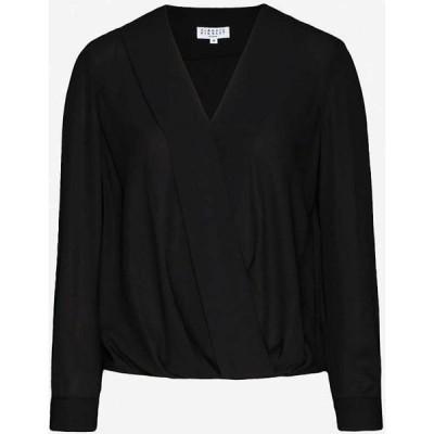 クローディ ピエルロ CLAUDIE PIERLOT レディース ブラウス・シャツ トップス Bonjour chiffon blouse BLACK