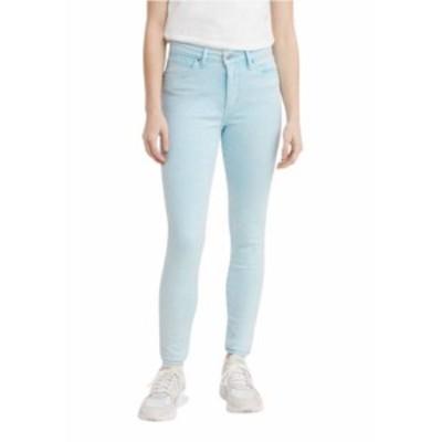 リーバイス レディース デニムパンツ ボトムス 721 High-Waisted Skinny Jeans Blue Topaz Hazy Acid