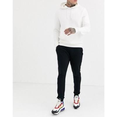 エイソス ASOS DESIGN メンズ ジョガーパンツ ボトムス・パンツ Skinny Lightweight Joggers In Black ブラック