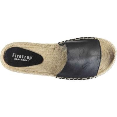 ファイヤートラップ Firetrap レディース サンダル・ミュール シューズ・靴 Blackseal Dahlia Sandals Black