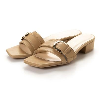 シューファンタジー Shoe Fantasy バックルベルトサンダル (beige)