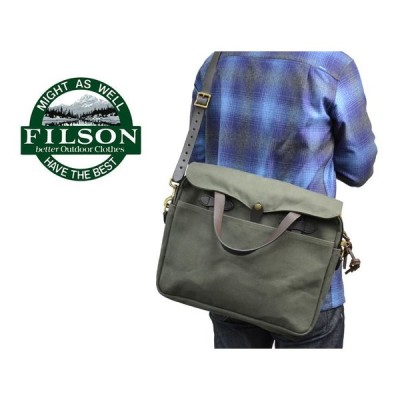 FILSON フィルソン 70256-OT ORIGINAL BRIEFCASE Otter Green オリジナル ブリーフケース ショルダーバッグ