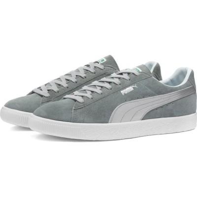 プーマ Puma メンズ スニーカー シューズ・靴 Suede Vintage Silver - Made in Japan Quarry/Puma Silver