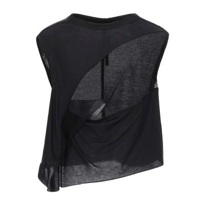 RICK OWENS LILIES T シャツ ブラック 40 レーヨン 70% / コットン 15% / ナイロン 15% T シャツ