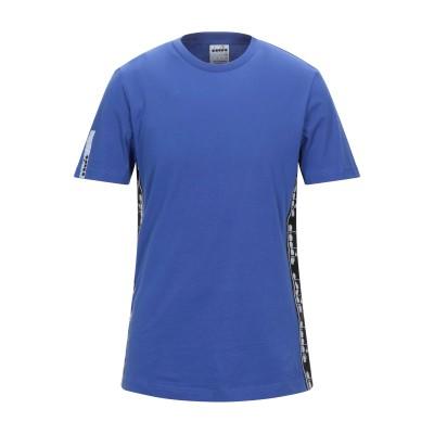 ディアドラ DIADORA T シャツ ブルー S コットン 100% T シャツ