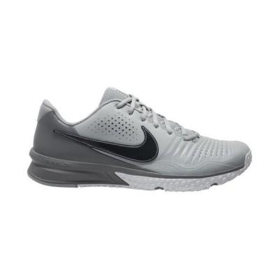 (取寄)ナイキ メンズ シューズ アルファ ハラチ 3 バーシティ ターフ Nike Men's Shoes Alpha Huarache 3 Varsity Turf Light Smoke Grey Dark Smoke Grey