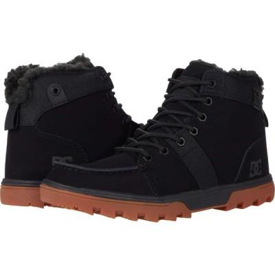 ディーシー DC メンズ シューズ・靴 Woodland Black/Gum 1