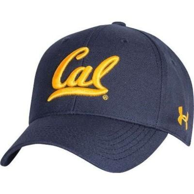 アンダーアーマー Under Armour メンズ キャップ 帽子 Cal Golden Bears Blue Adjustable Hat