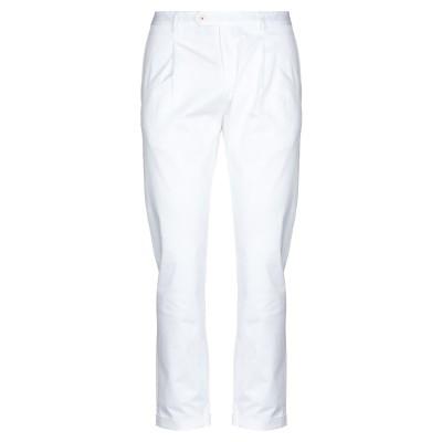 マニュエル リッツ MANUEL RITZ パンツ ホワイト 52 コットン 98% / ポリウレタン 2% パンツ